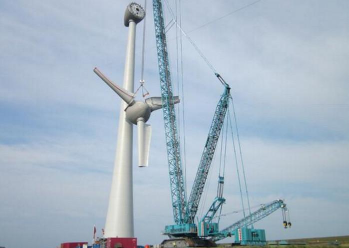 Саудовская Аравия запускает свою первую ветряную турбину