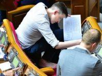 Савченко задекларировала доходы и спела на телевидении