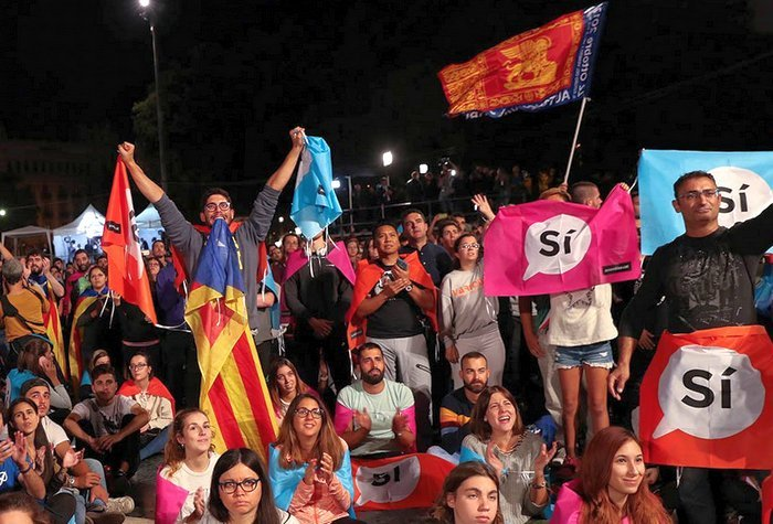 Сепаратизм по-испански: результаты референдума в Каталонии и реакция первых лиц страны