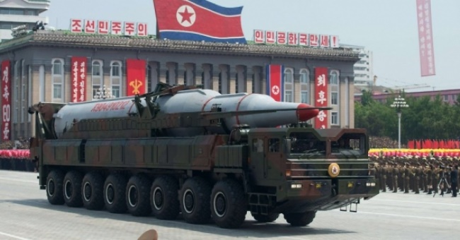 Северная Корея перемещает баллистическую ракету к западному побережью страны