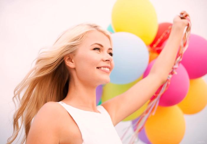Воздушный шар - сюрприз