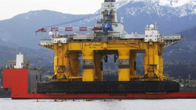Правительство США одобрило действия Shell по добыче нефти в Арктике
