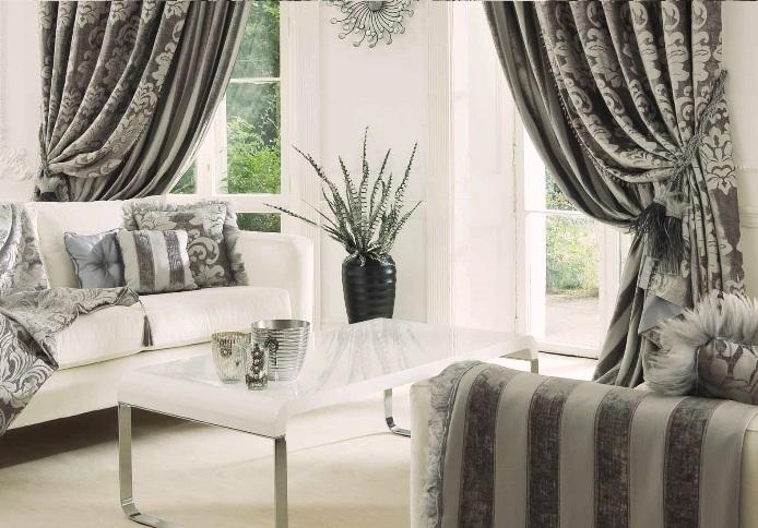 Дизайн штор – яркий акцент в оформлении интерьера
