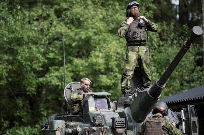 Швеция проводит самые масштабные военные учения за последние 20 лет