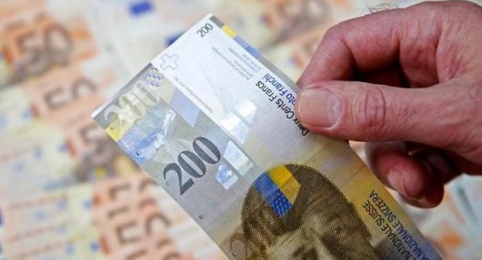 Швейцария отвергает обвинение в валютных манипуляциях