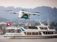 """Швейцария тестирует службу доставки с использованием """"беспилотников"""""""