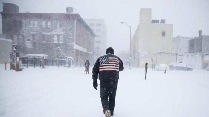 """Снежный шторм """"Грейсон"""" в США убил 16 человек и принес 40-градусные морозы"""