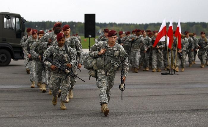 Солдаты НАТО приступили к тренировкам в Польше