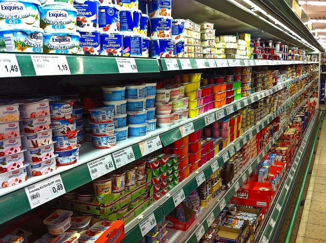 Сравнение цен на продукты в странах ЕС