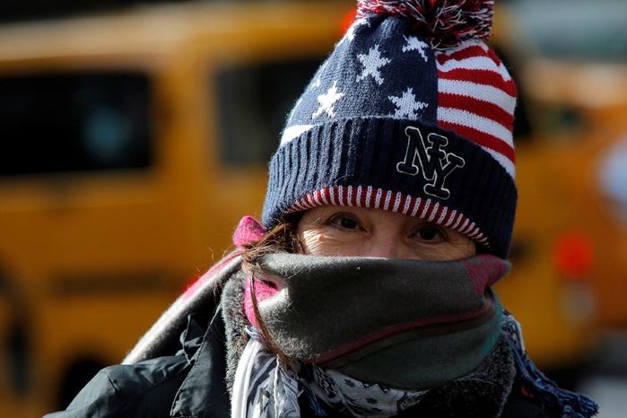США: из-за морозов погибли 8 человек и закрыты школы