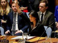 США наложили вето на призыв ООН отозвать решение Трампа об Иерусалиме