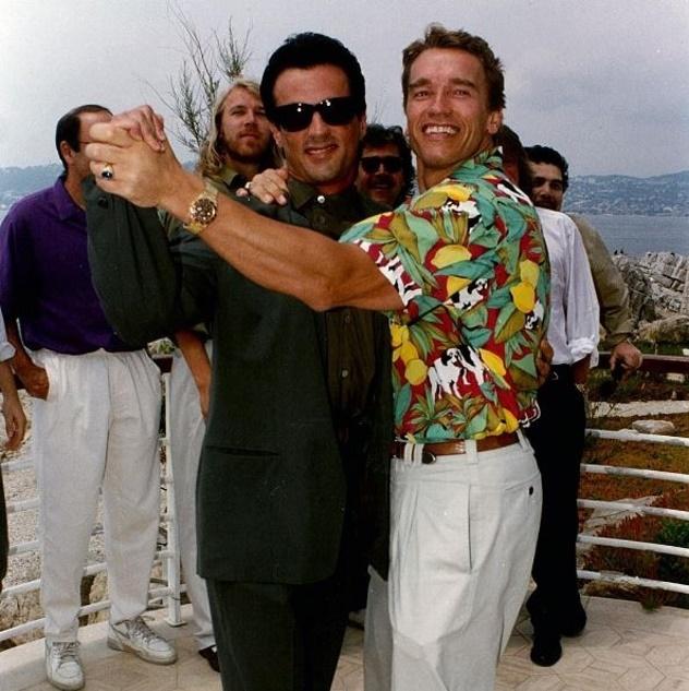Сталлоне поздравил своего друга Шварценеггера с 70-летием