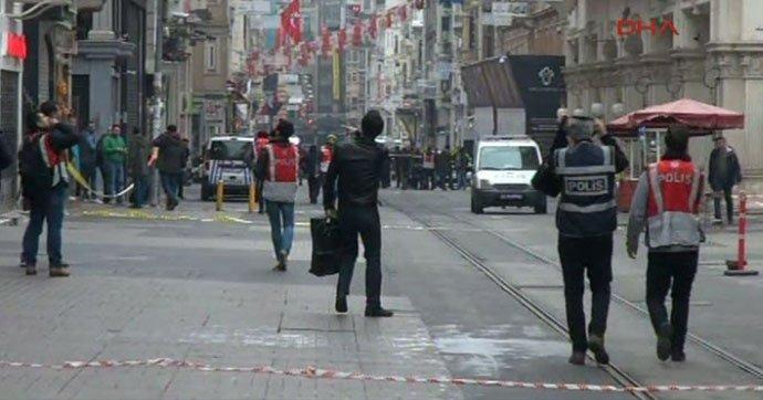 Теракты в Турции продолжаются: 19 марта в центре Стамбула прогремел взрыв