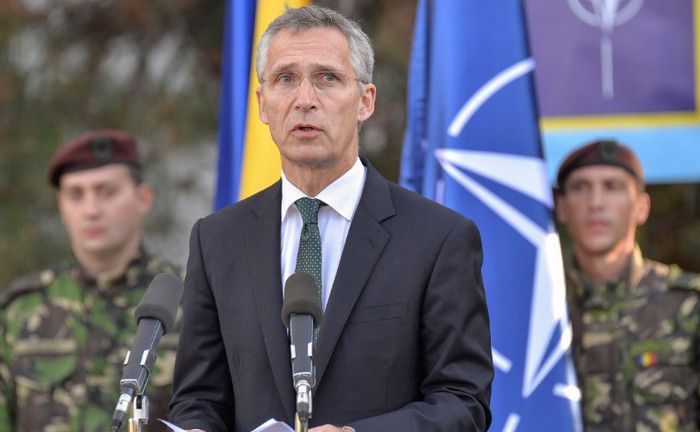 Столтенберг: Украина должна сама решить, подавать ли заявку на членство в НАТО