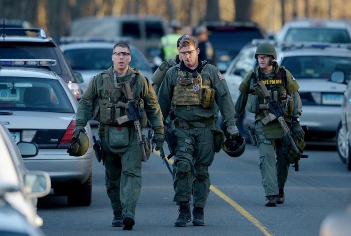 Стрельба в США:ранены несколько полицейских и гражданских