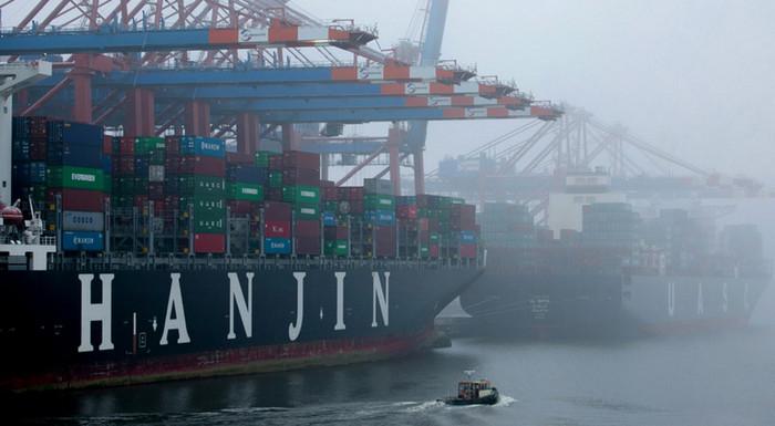 Судоходная компания Hanjin Shipping объявлена банкротом