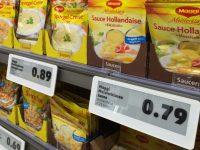Супермаркеты Европы вводят цифровые ценники по примеру заправочных станций