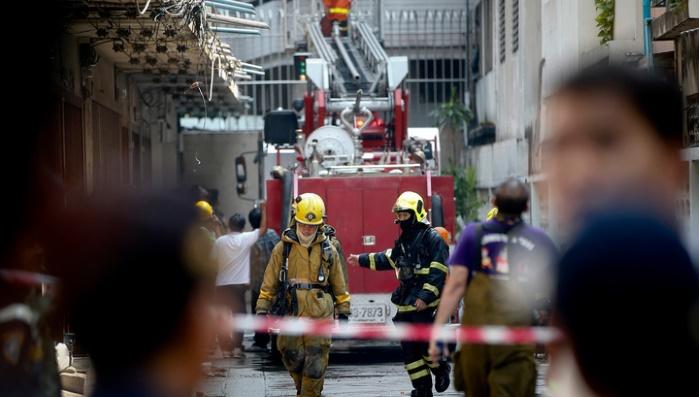 Таиланд: в аэропортугорода Кхонкэн произошел пожар