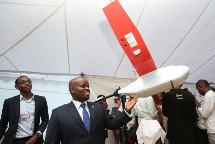 Танзания использует беспилотные аппараты для доставки лекарств