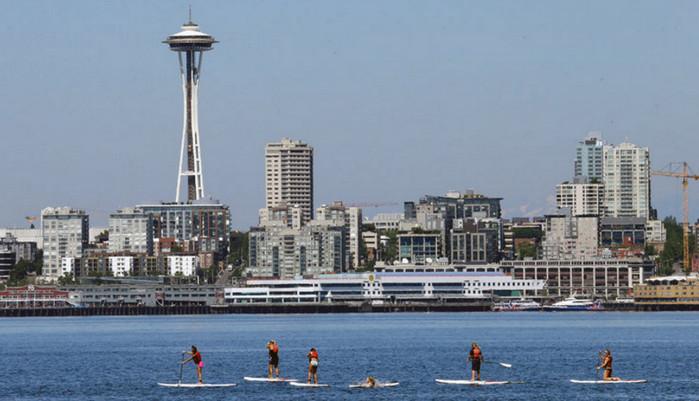 Температура воздуха в Сиэтле достигнет 40 градусов по Цельсию, - синоптики