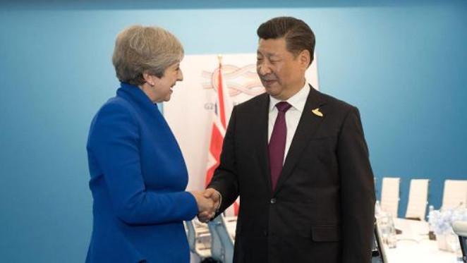 Тереза Мэй планирует заключить договор о свободной торговле с Китаем