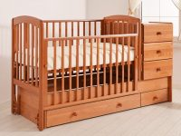 Как выбрать кровать трансформер для новорожденных