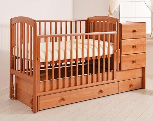 Как выбрать кроватку трансформер для новорожденных