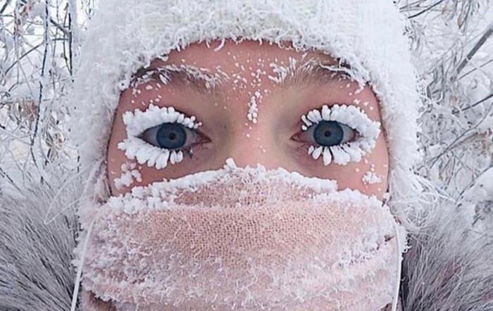 Термометр в Оймяконе показал рекордную температуру
