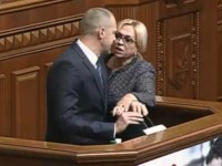 Народный депутат Тетерук якобы ударил Кужель по голове бутылкой – как это было