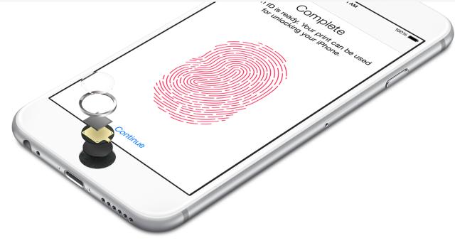 Технология Apple позволяет тайно вызвать спасателей с помощью отпечатков пальцев