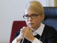Тимошенко раскритиковала президента за лишение гражданства Саакашвили