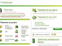 Тип плательщика, статус поля 101 в Сбербанк онлайн (Россия)