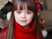 """Титул """"Самой красивой девочки в мире"""" получила 6-летняя Анастасия Князева"""