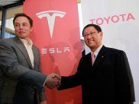 Toyota прекращает сотрудничество с Tesla по разработке электромобилей