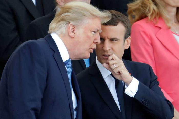 Трамп & Макрон: согласованы действия США и Франции по северокорейскому вопросу