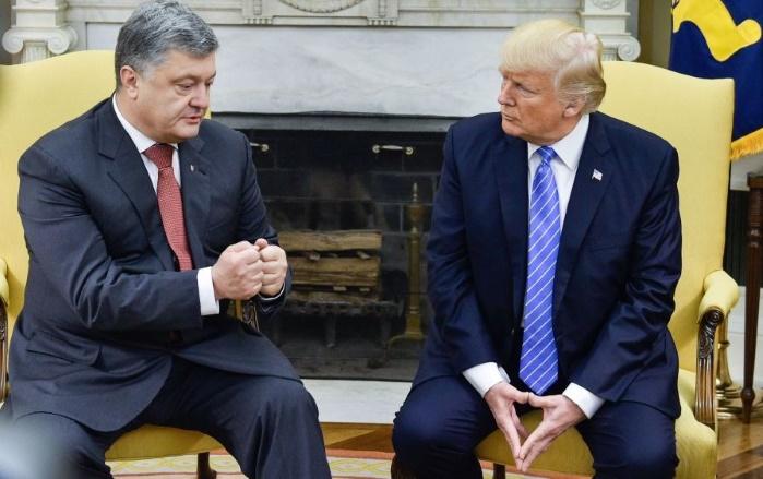 Трампу не хватило времени на встречу с Порошенко, —Тиллерсон