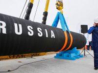 Транспортировка газа Северным потоком постоянно увеличивается