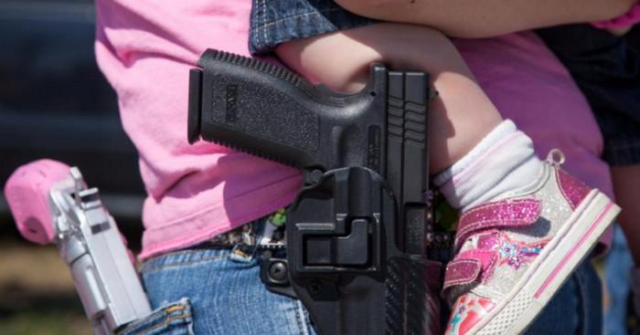 Три миллиона американцев носят при себе огнестрельное оружие, - исследование