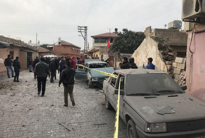 Турецкий приграничный город перенес ракетный удар со стороны Сирии
