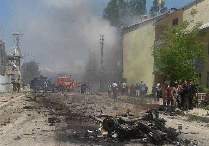 Очередной теракт в Турции: взрыв в городе Оваджик на востоке страны