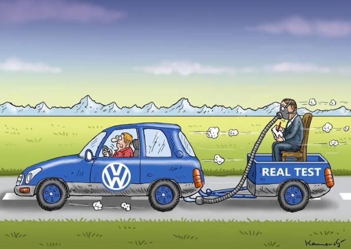 У Американцев претензии к Volkswagen на 80 млрд. долларов
