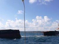 У побережья Турции разломился пополам сухогруз под монгольским флагом