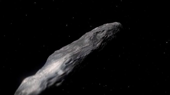 Ученые: загадочный астероид может быть искусственным инопланетным объектом