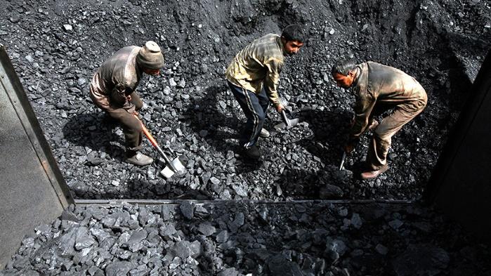 Украина: запасы угля на 1 октября 2017 оказались на треть меньше, чем в 2016 году
