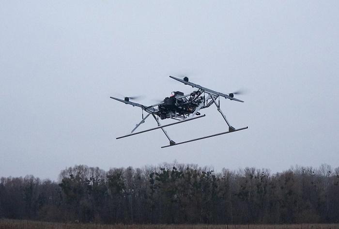 Украинские волонтеры сконструировали полезный беспилотник