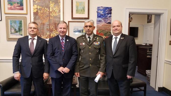 Украинский посол Чалый обсудил с конгрессменами финансовую поддержку ВСУ со стороны США