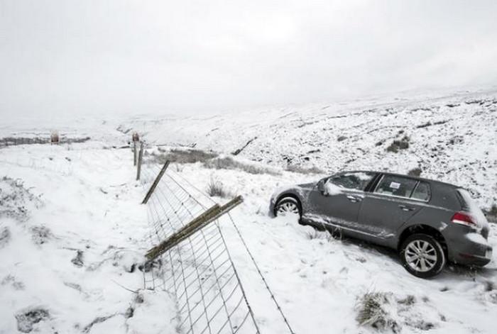 Ухудшение погоды в Великобритании: температура падает до -13 градусов