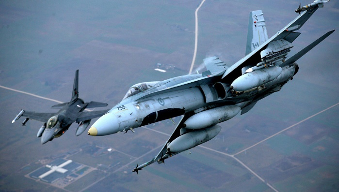 В 2017 году истребители НАТО сопроводили 130 самолетов ВВС России над Балтикой