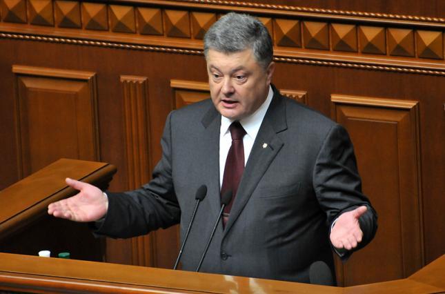 В 2017 году заработная плата Порошенко составила 336 тысяч гривен