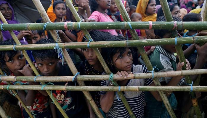 В 2018 году поток беженцев-рохиджа из Мьянмы в Бангладеш не прекратился